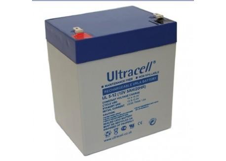 Batería 12v 5Ah Ultracell AGM