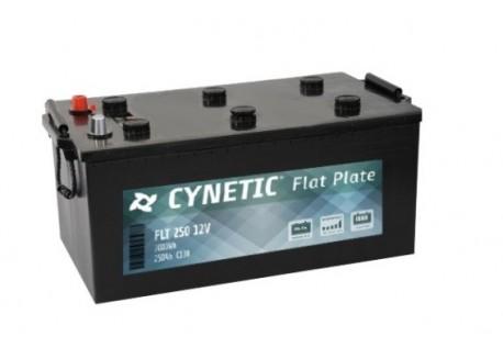 Batería solar monoblock 12v 250Ah cynetic flate plate