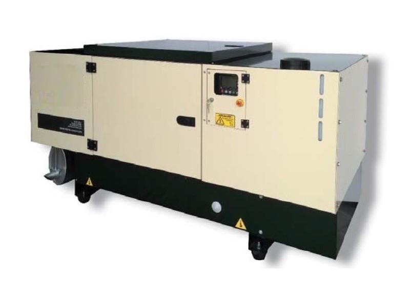 Generador diesel silencioso insonorizado 12kva for Generador arranque automatico