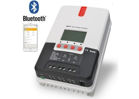 Regulador Mppt Cynetic 12/24v 30A 100v Bluetooth