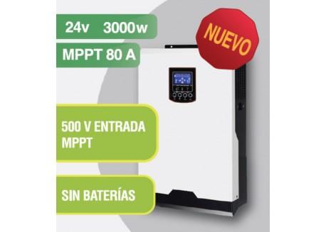 Inversor Híbrido Axpert V II 3000w 500v Mppt 80 Voltronic