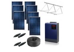 Kit solar bomba trifásica 230v hasta 2cv