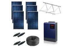 Kit solar bomba trifásica 230v hasta 1,5cv