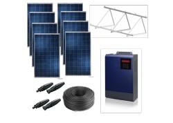 Kit solar bomba monofásica 230v hasta 1,5cv