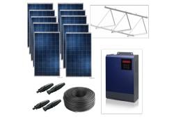 Kit solar bomba monofásica 230v hasta 2cv