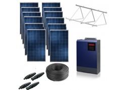 Kit solar bomba monofásica 230v hasta 3cv