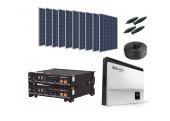 Kit Autoconsumo 13 kWh día+Batería de Litio 4,8 kWh