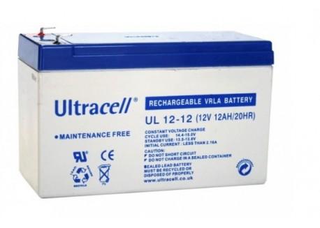 Batería 12v 12Ah Ultracell AGM