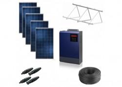 Kit solar bomba trifásica 230v hasta 1cv