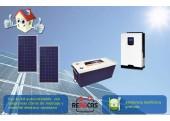Kit Solar Aislada 1 750/1500w