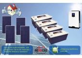 Kit Solar Aislada 5 3000/5600