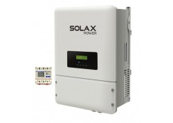 Inversor solax boost 3kw + meter chint vertido cero