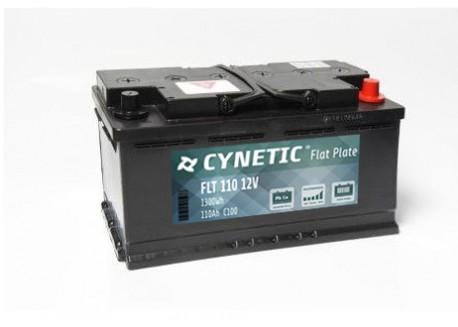 cynetic flate plate 110ah batería monoblock
