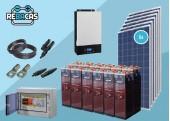 Kit Solar Aislada 21 5000/1000 OPZS sin Conexión a Red