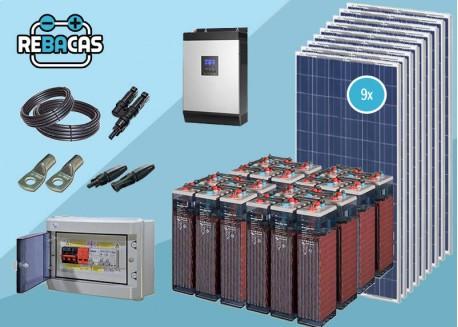 Kit Solar Aislada 23 9000/18000 Wh/día OPZS