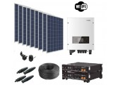 Kit Autoconsumo 13 kWh/día + Batería de Litio 4,8 kWh