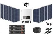 Kit Autoconsumo 25 kWh/día + Batería de Litio 7.2 kWh