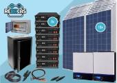 kit solar litio L10 36 kwh dia pylontech 28,4kwh 80%DOD