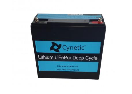 Batería de Litio 12v 20Ah Cynetic