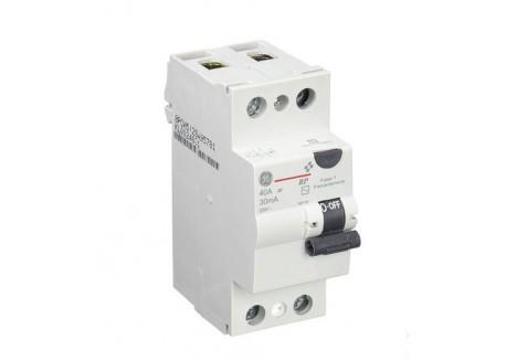Interruptor Diferencial GE Tipo AC 2P 25A 30mA