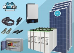 kit solar 6000w económico
