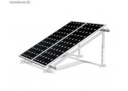 estructura regulable 4 paneles solares