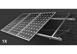Estructura 1 panel solar pared