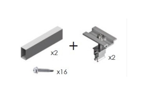 Kit de unión estructuras horizontales