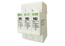 Protector contra sobretensiones de continua 1500 VDC