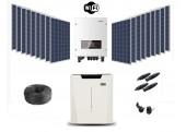 Kit Autoconsumo 25 kWh/día + Batería de Litio 5.3kwh