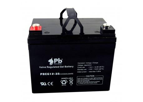 Batería 12v 35Ah Gel
