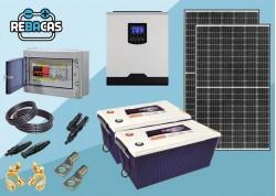 kit solar 1500/3000w batería de gel