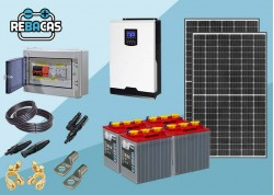 kit solar nevera inversor 3000w