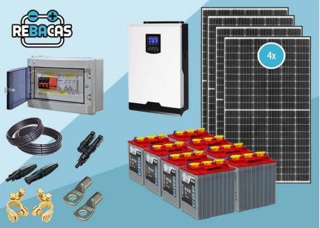 Kit Solar Aislada 6 4500/9000