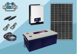 kit solar con batería de gel