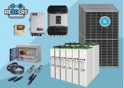 kit solar 15kw Studer con baterías estacionarias