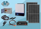 kit solar litio L1 5kwh día pylontech 3,55 kwh 80%DOD