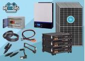 kit solar litio L3 15 kwh dia pylontech 7,2kwh 80%DOD