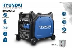 Generador Inverter Hyundai 6 kw 230V arranque automatico