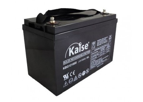 Batería Gel 12v 100Ah Kaise