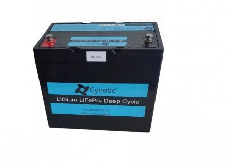 Batería de Litio 12v 60Ah Cynetic