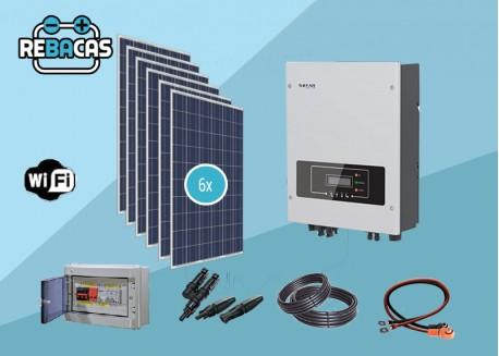 Kit solar autoconsumo 6,5kwh