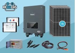 Nuevo Kit Solar Autoconsumo 28 kWh/día 6OOO wp híbrido
