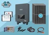 kit solar Autoconsumo 28 kWh/día 6OOO wp Hibrido