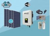 Kit Solar Autoconsumo 13 kWh día solax