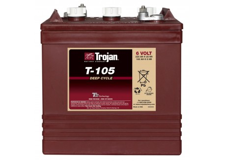 Batería Trojan 6v t 105