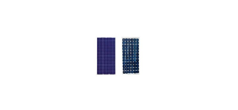 ¿Panel solar monocristalino o panel solar policristalino?