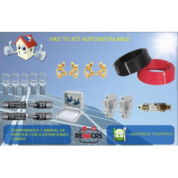 kit solar con baterias